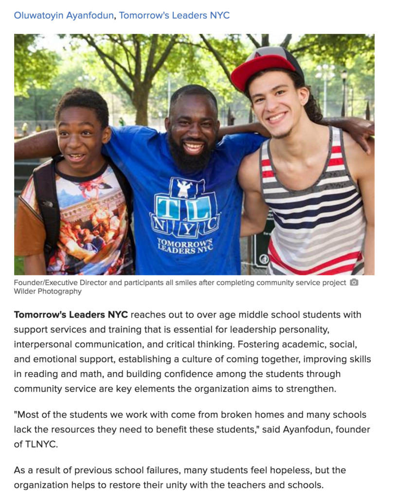 Founder feature on NBC